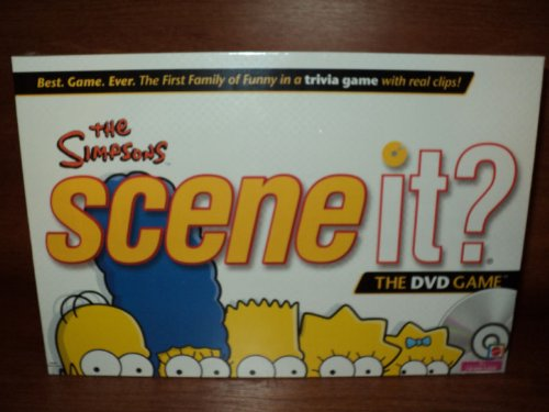 The Simpsons Scene It DVD Board Trivia Game by Mattel