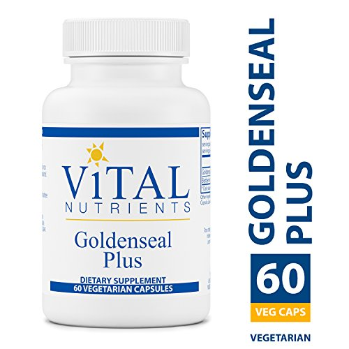 Vital Nutrients Goldenseal Plus Supplement, 60 Count For Sale