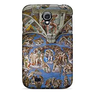 For NewArrivalcase Galaxy Protective Case, High Quality For Galaxy S4 Painted Heaven Skin Case Cover by runtopwell