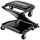 Powerbuilt 620469 42'' Triplex 3-In-1 Floor Creeper Seat Stool