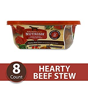 Rachael Ray Nutrish Natural Premium Wet Dog Food, Grain Free, Hearty Beef Stew, 8 Oz Tub (Pack Of 8)