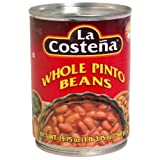 La Costena Beans, Whole Pinto, 19.75-Ounce (Pack of 12)