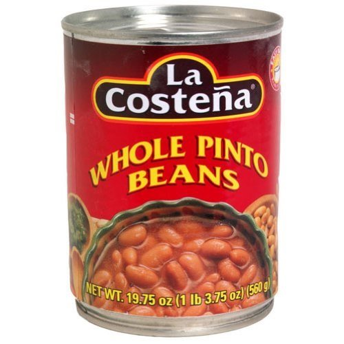 La Costena Beans, Whole Pinto, 19.75-Ounce (Pack of 12) by La Costena