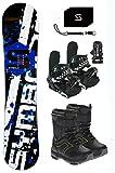Symbolic Chopper Snowboard & Bindings & Boots & Leash & Stomp & Burton Decal Package