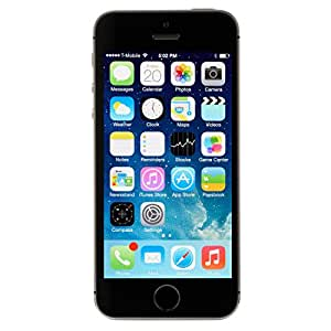 Apple iPhone 5s 16GB AT&T Locked 4G LTE Dual-Core Phone w/ 8MP Camera - Space Gray (Certified Refurbished)