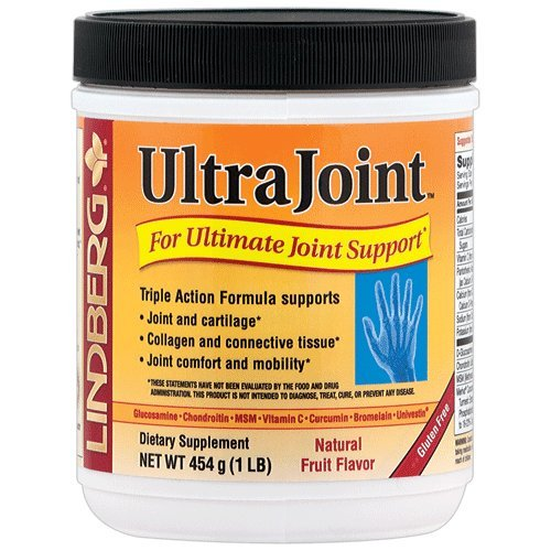 Lindberg UltraJoint Powder 1 Lb - A Comprehensive, Triple-Action Joint Formula