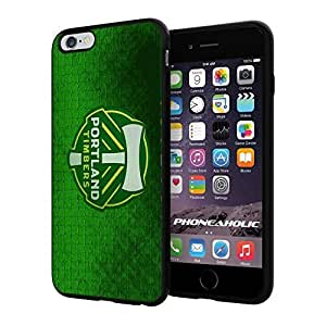 diy zhengSoccer MLS PORTLAND TIMBERS SOCCER CLUB FOOTBALL FC,Cool iphone 5/5s Smartphone Case Cover Collector iphone TPU Rubber Case Black