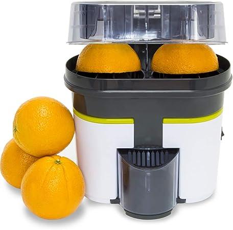 Oferta amazon: Cecotec Exprimidor naranjas eléctrico Cecojuicer Zitrus Turbo - Exprimidor, 2 Cabezales, Depósito de 500ml, Libre de BPA, Fácil Limpieza, 90 W