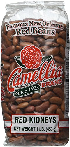 Red Louisiana Beans (Camellia Brand Red Kidney Beans, 1 Lb, 3pk)