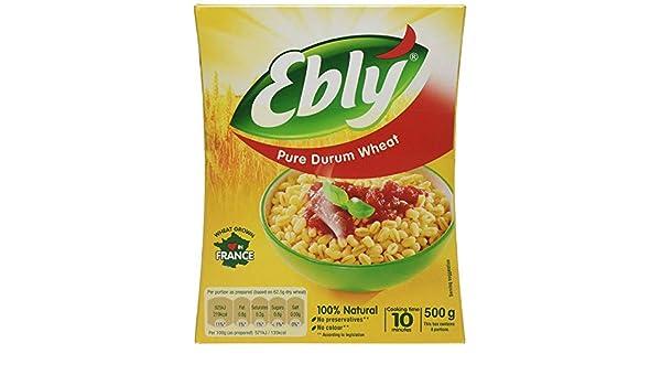 Ebly Trigo Duro Puro (500g): Amazon.es: Alimentación y bebidas