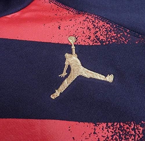 Air Jordan Retro7 Stars&Stripes USA ジョーダン レトロ7 プルオーバー パーカー ネイビー [並行輸入品]