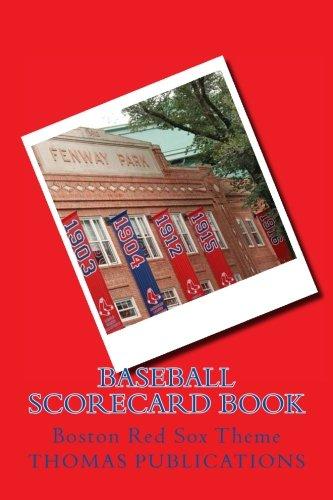 B.e.s.t Baseball Scorecard Book: Boston Red Sox Theme WORD
