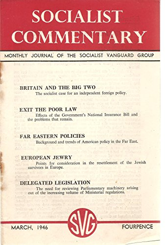 socialist-commentary-monthly-journal-of-the-socialist-vanguard-group-including-emanuel-scherers-arti