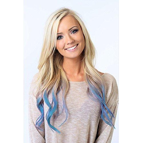 Light Blue Hair Chalk Edge Blendable Hair Color Import
