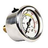 JUFENG Pump Pressure Gauge High Pressure
