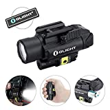 OLIGHT PL-2RL Baldr 1200 lumens Ultra-High-Output White LED & Red Laser Weaponlight with 2 x CR123A Batteries Patch