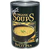 Amy's, Organic Soups, Split Pea, Low Fat, 14.1 oz (400 g)(Pack of 3)