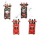 Minnesota Twins Sleigh Ornament 4 pack