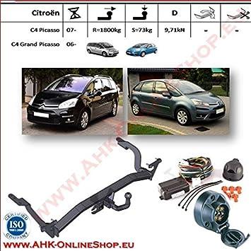 Für Citroen C4 Grand Picasso II Anhängerkupplung starr ABE