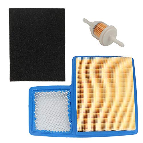 - Harbot JN6-E4450-01 Air Filter with Pre-Cleaner Fuel Filter for Yamaha G16 G20 G21 G22 G29 4-Cycle 301cc 357cc Engine Drive Gas Golf Cart Tune Up Kit 1996-Up