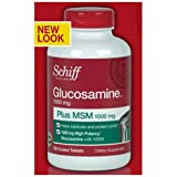Schiff Glucosamine Plus MSM 1500mg – 200 Coated Tablets, Health Care Stuffs
