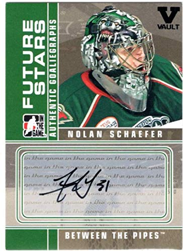 2008-09 Between The Pipes Autographs #ANS Nolan Schaefer - From the Vault Version Autograph ()