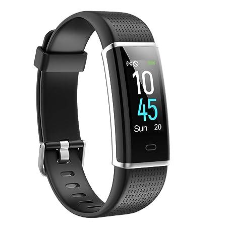 Willful Fitness Armband,Smartwatch Fitness Tracker mit Pulsmesser Wasserdicht IP68 Fitness Uhr Pulsuhr Schrittzähler Uhr Spor