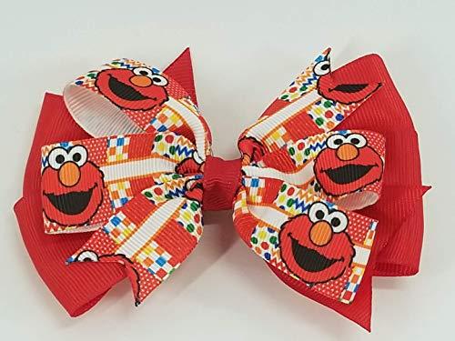 Elmo Hair Bow]()