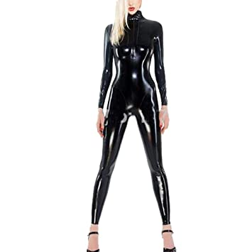 Sexy latex catsuit