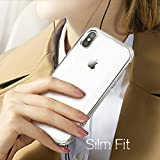 For iPhone X Case, Yesgo iPhone X Cover Clear Anti-Scratch Shock Absorption Case for iPhone X