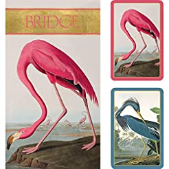 Caspari Audubon Birds Large Type Bridge ...