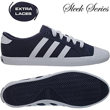 the latest 43f89 9c3e0 Adidas Adria Low Sleek Canvas Sneakers navy blau weiszlig - Gr.42 UK8 -  associate-degree.de
