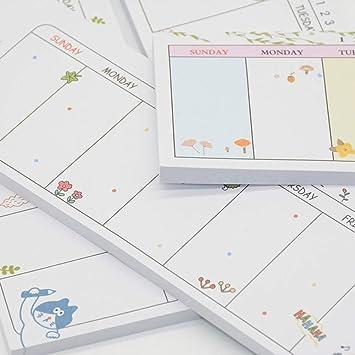 YPGFL Cuaderno Planificador Semanal Agenda Material ...