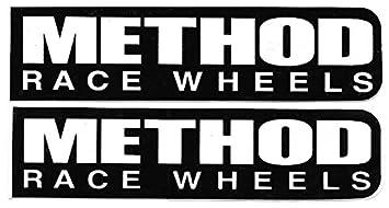 NEW Method Race Wheels Decals