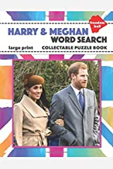 Harry & Meghan Word Search Large Print Collectable Puzzle Book: Royal Wedding Souvenir Paperback