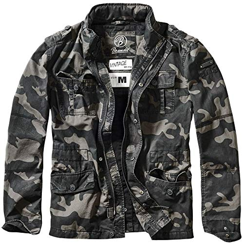 Brandit Vintage Mens Military M65 Short Army Combat for sale  Delivered anywhere in USA
