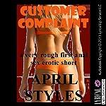 Customer Complaint: A Rough First Anal Sex Short | April Styles