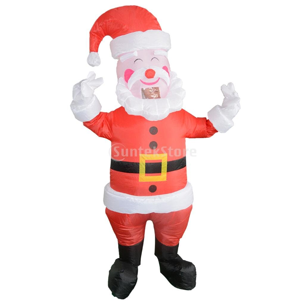 Christmas Fancy Dress Funny.Buy Magideal Funny Santa Claus Inflatable Costume Adults