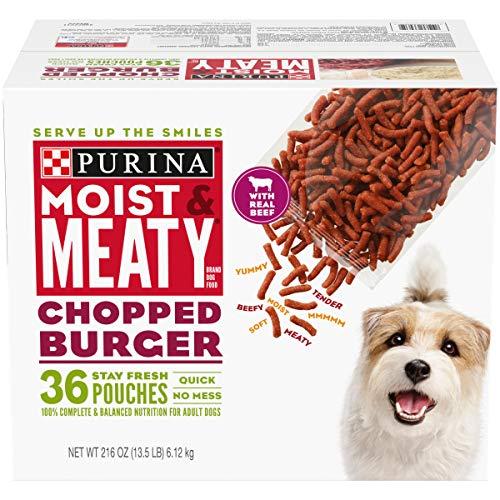 Purina Moist & Meaty Chopped Burger Adult Dry Dog Food