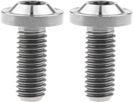 Yaruijia - Tornillo de titanio M8 x 20 de 25 mm para freno de ...