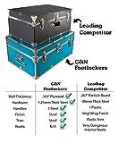 C&N Footlockers Happy Camper Trunk with Wheels