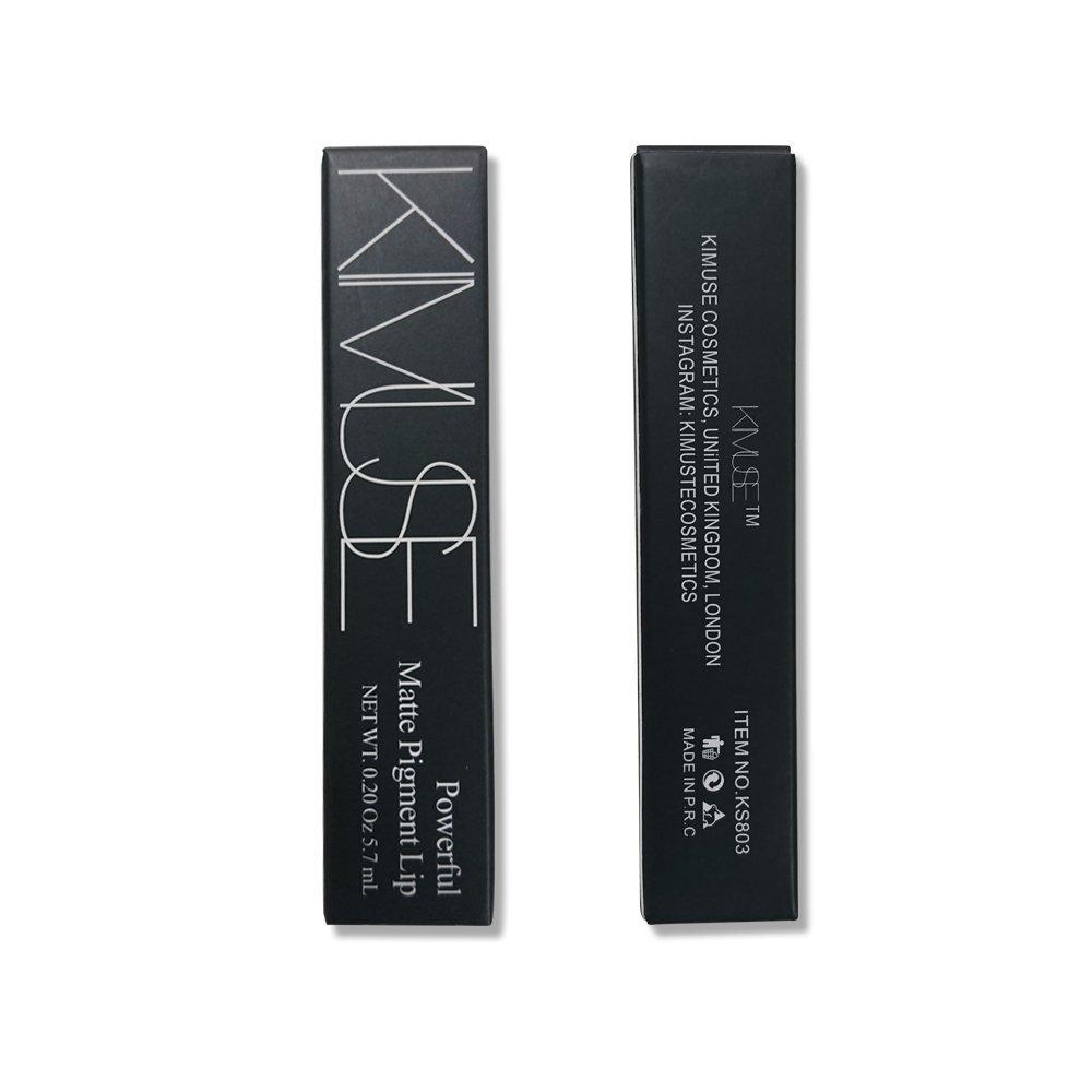 Amazon.com : AIKIMUSE Matte Pigment Liquid Lipstick Waterproof Long Lasting Lips Gloss Cosmetics, 0.14 fl. oz. (10) : Beauty