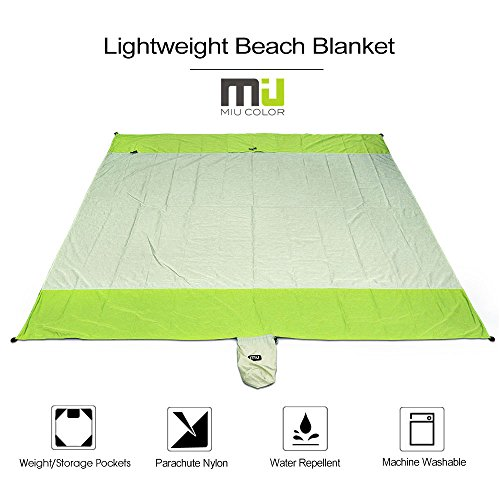 Outdoor Blanket Compact Waterproof and Sandproo...