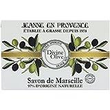 Jeanne en Provence Divine Olive Jabón sólido de aceite de oliva, 200 g