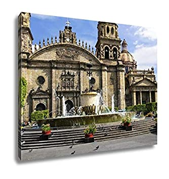 Amazon.com: Ashley Canvas Guadalajara Cathedral in Jalisco ...