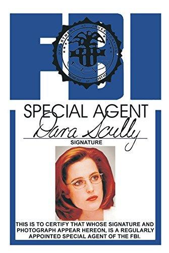 Skully FBI Fun Fake ID License Necklace -