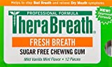 TheraBreath Fresh Breath GUM, Pack of 3