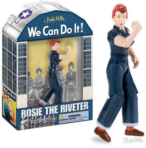Accoutrements Rosie The Riveter Action Figure ()