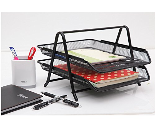 2 tier file tray - 3