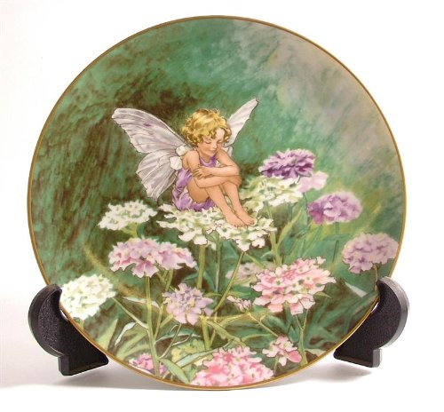 - Heinrich Villeroy and Boch The Candytuft Fairy plate CP554